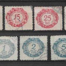 Sellos: LIECHTENSTEIN 1920 USADO - 8/53. Lote 146635102