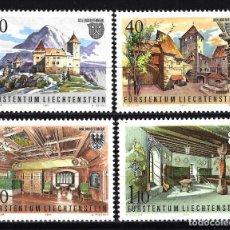 Timbres: LIECHTENSTEIN 1981YVERT 721/724 MNH** NUEVOS - CASTILLO GUTENBERG. Lote 146768450