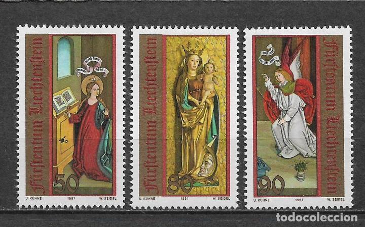 LIECHTENSTEIN 1991 ** NUEVOS SC 970-972 (3) NAVIDAD - 2/56 (Sellos - Extranjero - Europa - Liechtenstein)