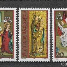 Sellos: LIECHTENSTEIN 1991 ** NUEVOS SC 970-972 (3) NAVIDAD - 2/56. Lote 154482610
