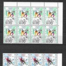 Sellos: LIECHTENSTEIN 1991 ** NUEVOS SC 973-975 (3) 4.30 X8 DEPORTES OLIMPIADAS - 2/59. Lote 154483098
