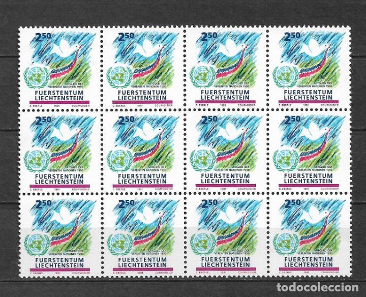 LIECHTENSTEIN 1991 ** NUEVOS SC 959 2.50FR MULTICOLORED 3.50 X12 42.00 - 3/46 (Sellos - Extranjero - Europa - Liechtenstein)