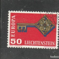Timbres: LIECHTENSTEIN 1968 - YVERT NRO. 446 - USADO. Lote 159616042
