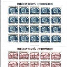 Sellos: LIECHTENSTEIN,1978,EUROPA,YVERRT,NUEVOS,YVERT 639-640. Lote 286654668