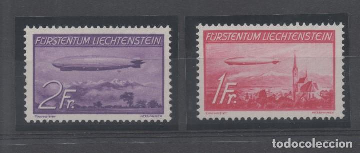 GRAF ZEPPELIN=LIECHTENSTEIN=Nº 15/16 _NUEVOS SIN FIJASELLOS_ VER FOTOS (Sellos - Extranjero - Europa - Liechtenstein)