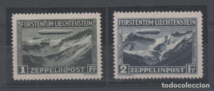 GRAF ZEPPELIN=LIECHTENSTEIN=Nº 7/8 _NUEVOS SIN FIJASELLOS_ VER FOTOS (Sellos - Extranjero - Europa - Liechtenstein)