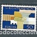 Sellos: LIECHTENSTEIN,1963,EUROPA,YVERT 381,NUEVO,MNH**. Lote 168542476