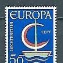 Sellos: LIECHTENSTEIN,1966,EUROPA,YVERT 417,NUEVO,MNH**. Lote 168544488