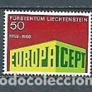 Sellos: LIECHTENSTEIN,1969,EUROPA,,YVERT 454,NUEVO,MNH**. Lote 168545912