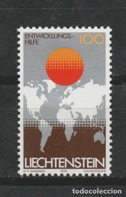 LOTE (2) SELLOS SELLO LIECHTENSTEIN NUEVO 1979 (Sellos - Extranjero - Europa - Liechtenstein)