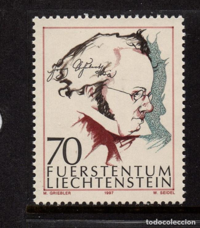 LIECHTENSTEIN 1088** - AÑO 1997 - MUSICA - BICENTENARIO DEL NACIMIENTO DEL COMPOSITOR FRANZ SCHUBERT (Sellos - Extranjero - Europa - Liechtenstein)