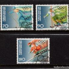 Sellos: LIECHTENSTEIN 1103/05 - AÑO 1997 - JUEGOS OLIMPICOS DE INVIERNO DE NAGANO. Lote 180014492