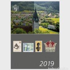 Sellos: LIECHTENSTEIN 2019 - YEAR PACK 2019 - YEAR COLLECTION MNH. Lote 183336120