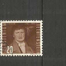 Francobolli: LIECHTENSTEIN CORREO AEREO YVERT NUM. 26 USADO. Lote 189957818