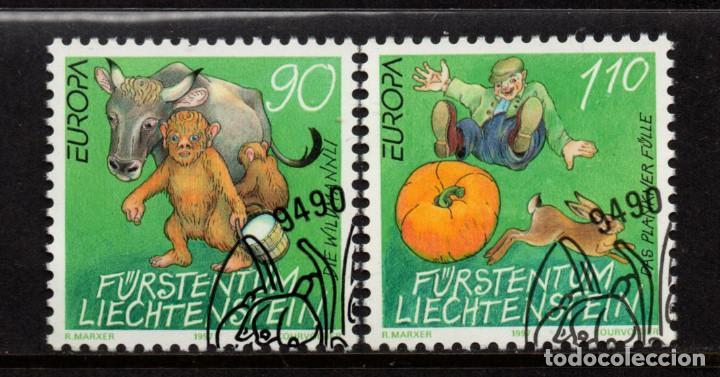 LIECHTENSTEIN 1086/87 - AÑO 1995 - EUROPA - CUENTOS Y LEYENDAS (Sellos - Extranjero - Europa - Liechtenstein)