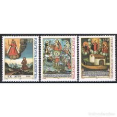 Sellos: [CF4240B] LIECHTENSTEIN 2001, SERIE PINTURAS RELIGIOSAS (MNH). Lote 195006170