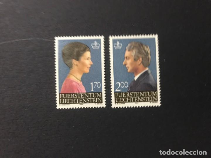 LIECHTENSTEIN 1984 MICHEL 864/5** MNH (Sellos - Extranjero - Europa - Liechtenstein)