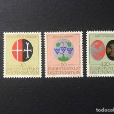 Sellos: LIECHTENSTEIN 1971 MICHEL 548/50** MNH. Lote 195936895