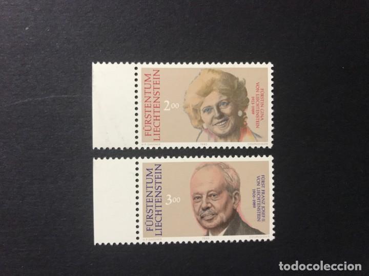 LIECHTENSTEIN 1990 MICHEL 988/9** MNH (Sellos - Extranjero - Europa - Liechtenstein)