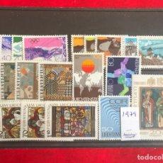 Sellos: LIECHTENSTEIN 1979 AÑO COMPLETO MICHEL 723/40** MNH. Lote 195960386