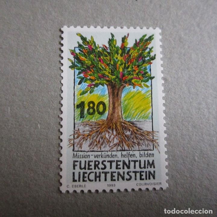 LIECHTENSTEIN 1993, Nº YVERT 1005**, (Sellos - Extranjero - Europa - Liechtenstein)