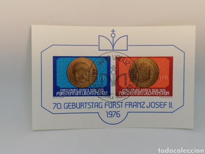 Sellos: Liechtenstein Hbs mini pliego lote - Foto 3 - 200761943