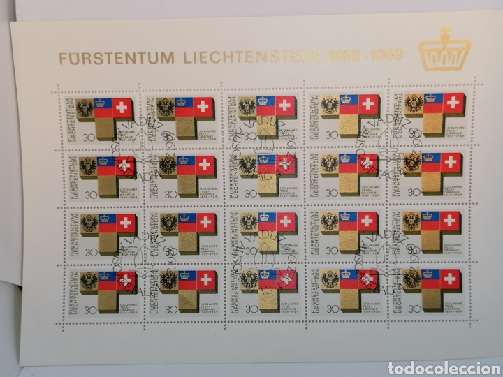 Sellos: Liechtenstein Hbs mini pliego lote - Foto 5 - 200761943