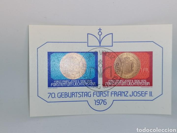 Sellos: Liechtenstein Hbs mini pliego lote - Foto 2 - 200761943