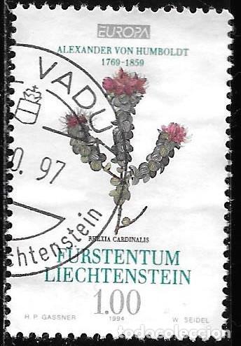 LIECHTENSTEIN 1994. EUROPA CEPT. ALEXANDER VON HUMBOLDT. YT 1021 (Sellos - Extranjero - Europa - Liechtenstein)