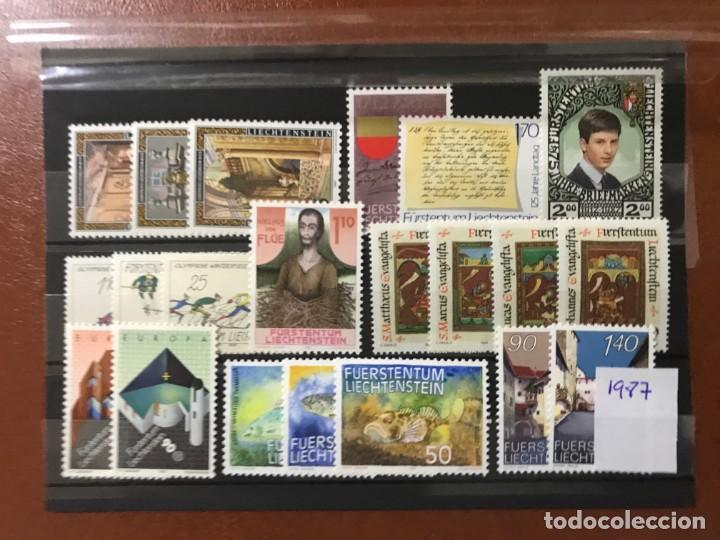 LIECHTENSTEIN 1987 AÑO COMPLETO MICHEL 916/36** MNH (Sellos - Extranjero - Europa - Liechtenstein)