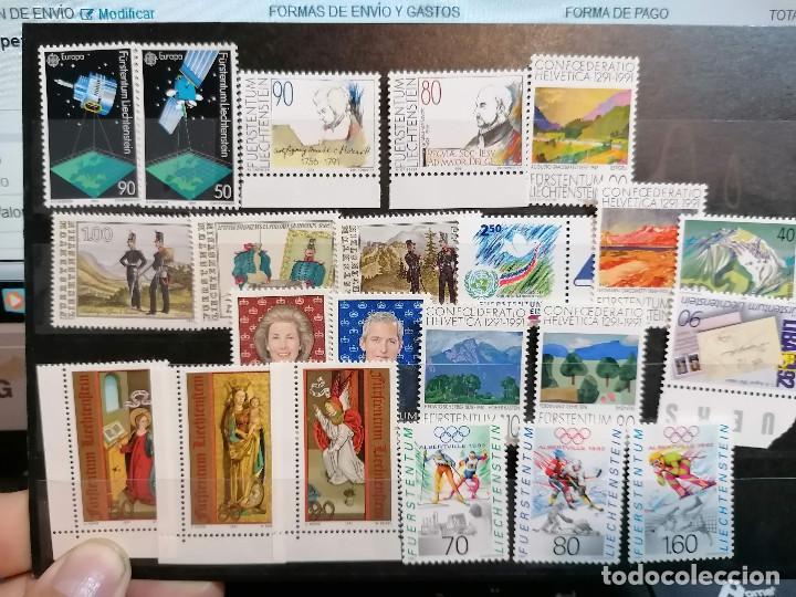 Sellos: Liechtenstein Año Completo 1991 *** MNH - Foto 2 - 204478056
