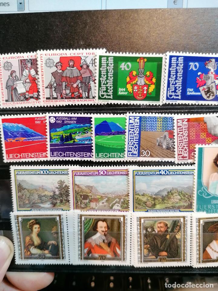 Sellos: Liechtenstein Año Completo 1982 *** MNH - Foto 2 - 204478188