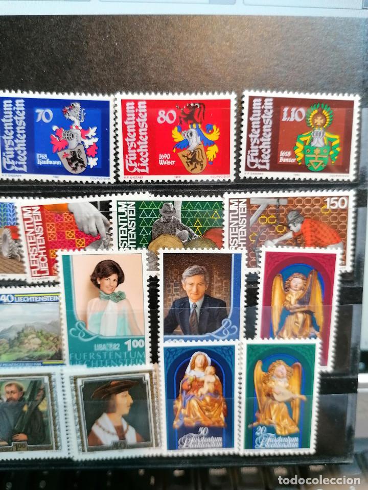Sellos: Liechtenstein Año Completo 1982 *** MNH - Foto 3 - 204478188