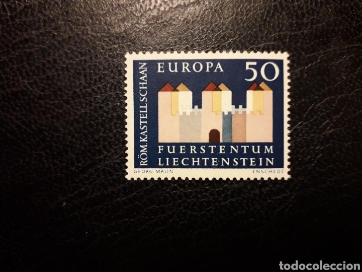 LIECHTENSTEIN YVERT 388 SERIE COMPLETA NUEVA ***. EUROPA CEPT (Sellos - Extranjero - Europa - Liechtenstein)