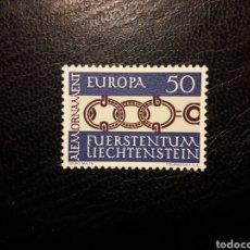 Sellos: LIECHTENSTEIN YVERT 398 SERIE COMPLETA NUEVA ***. EUROPA CEPT.. Lote 206297413