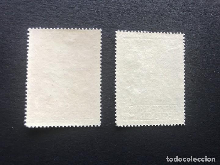 Sellos: Liechtenstein 1955 Michel 332/3** MNH - Foto 2 - 207942243