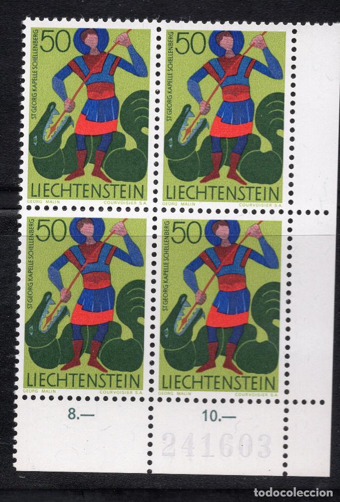 LIECHTENSTEIN 1968 BLOQUE MNH MICHEL 489 (Sellos - Extranjero - Europa - Liechtenstein)