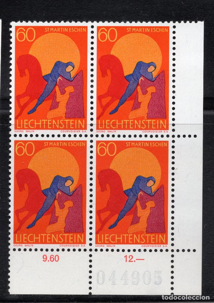 Sellos: LIECHTENSTEIN 1968 BLOQUE MNH MICHEL 490 - Foto 1 - 210006865