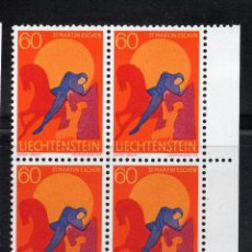 Sellos: LIECHTENSTEIN 1968 BLOQUE MNH MICHEL 490. Lote 210006865