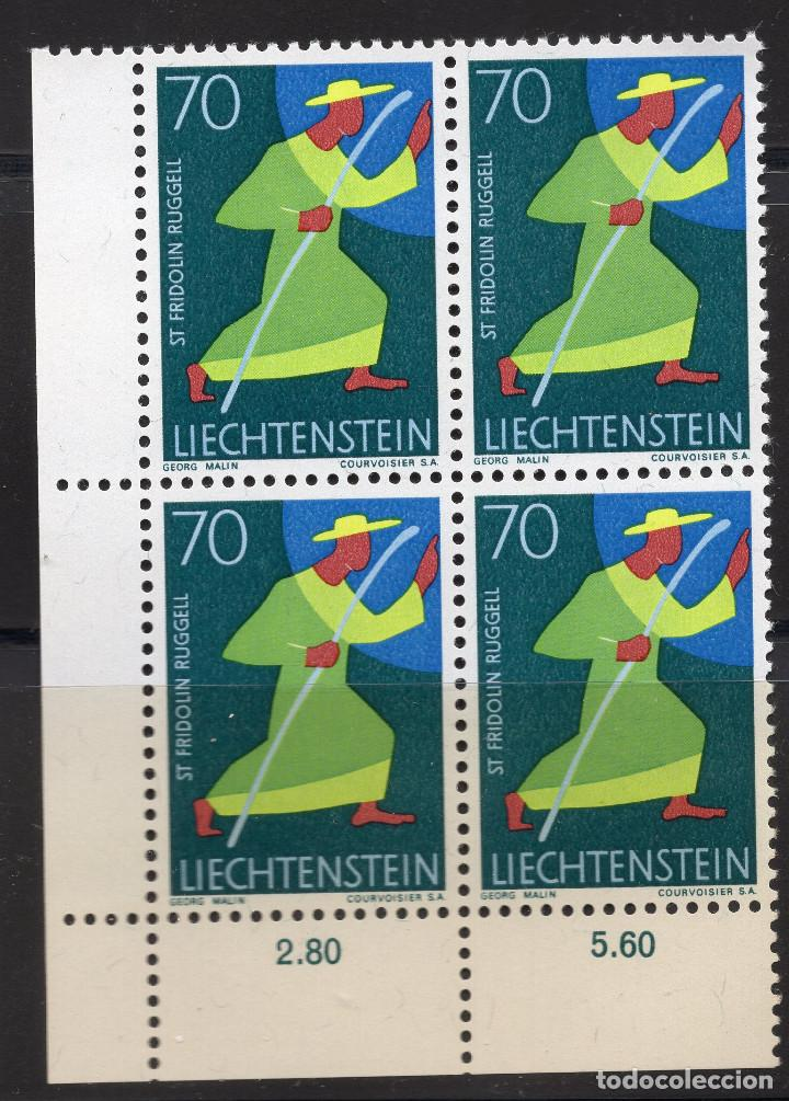Sellos: LIECHTENSTEIN 1968 BLOQUE MNH MICHEL 491 - Foto 1 - 210006916