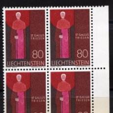 Sellos: LIECHTENSTEIN 1968 BLOQUE MNH MICHEL 492. Lote 210006955