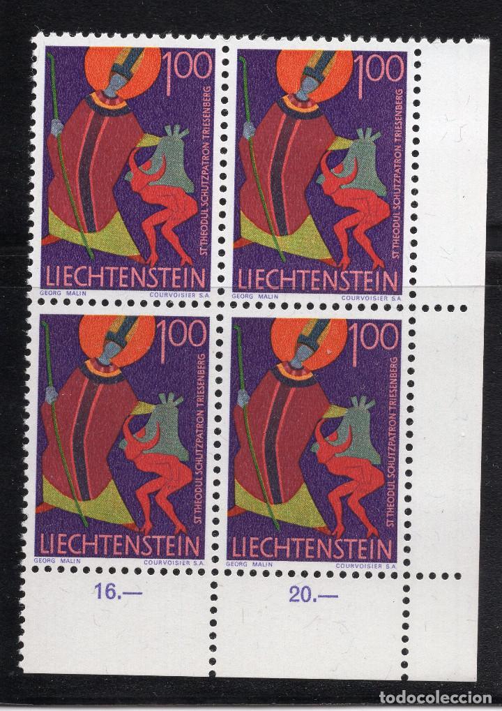 LIECHTENSTEIN 1968 BLOQUE MNH MICHEL 493 (Sellos - Extranjero - Europa - Liechtenstein)
