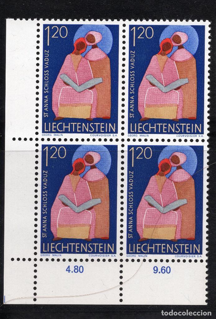 LIECHTENSTEIN 1968 BLOQUE MNH MICHEL 494 (Sellos - Extranjero - Europa - Liechtenstein)