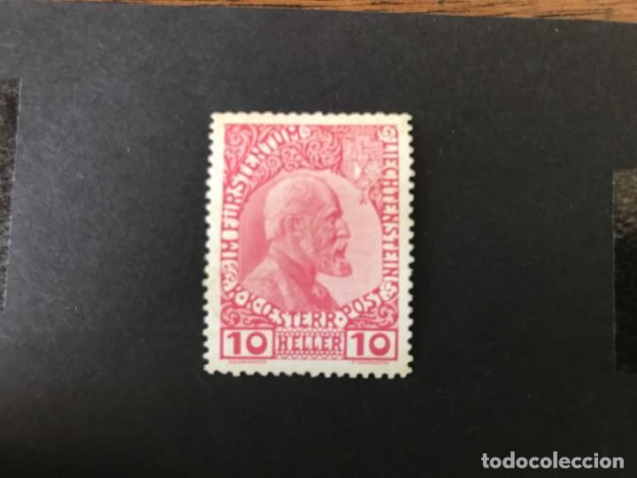 LIECHTENSTEIN. 1912 MICHEL 2* MLH. VALOR CATÁLOGO 95€ (Sellos - Extranjero - Europa - Liechtenstein)