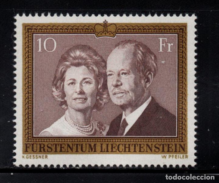 LIECHTENSTEIN 557** - AÑO 1974 - PRÍNCIPES DE LIECHTENSTEIN (Sellos - Extranjero - Europa - Liechtenstein)