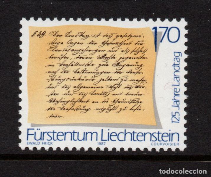 LIECHTENSTEIN 870** - AÑO 1987 - 125º ANIVERSARIO DEL PARLAMENTO (Sellos - Extranjero - Europa - Liechtenstein)