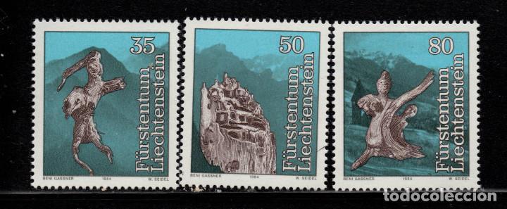 LIECHTENSTEIN 784/86** - AÑO 1984 - FOLKLORE - LEYENDAS (Sellos - Extranjero - Europa - Liechtenstein)