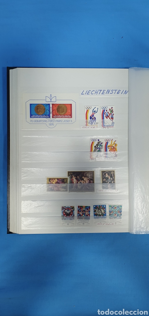 SELLOS DE LIECHTENSTEIN - DESDE 1975 HASTA 1978 (Sellos - Extranjero - Europa - Liechtenstein)