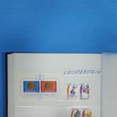 Sellos: SELLOS DE LIECHTENSTEIN - DESDE 1975 HASTA 1978. Lote 219376280