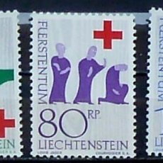 Sellos: SELLOS LIECHTENSTEIN 1963 - FOTO 913 , COMPLETA, NUEVO. Lote 219679970